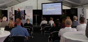Christina Palmén, sakkunnig inom miljö och säkerhet på Svensk Sjöfart, diskuterade hur sjöfarten ser på framtidens bränslen och huruvida biogas är ett alternativt bränsle för sjöfarten i framtiden på ett seminarium arrangerat av Energigas Sverige.